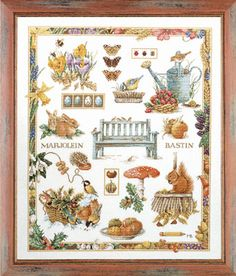 The Four Seasons Collage by Marjolein Bastin