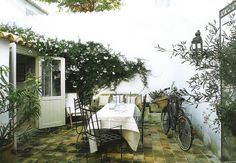 Pavers ~linen & lavender: ...And the livin' is easy