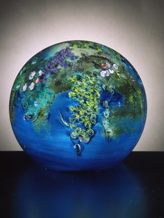 Glass in his series Planets by Josh Simpson