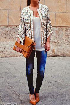 trendy kimono top