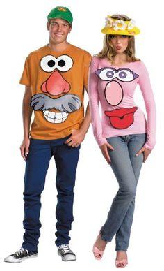 Halloween, Halloween Costumes Couples, Halloween Costumes diy, Halloween Costumes Adult--Mr. and Mrs. Potato Head Kit Disguise--