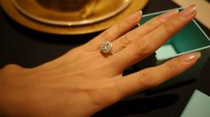 Tiffany & Co Diamond ring Soleste Engagement ring