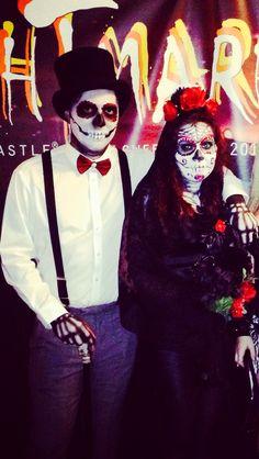 Dia De Los Muertos Couples Costumes