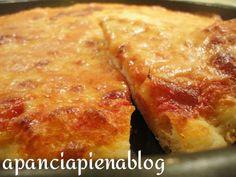 Pizza al taglio (ricetta tradizionale e bimby)