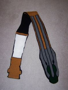 Sonic Screwdriver Scarves