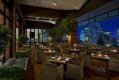 Terraza Restaurant - W Hotel, Santiago de Chile