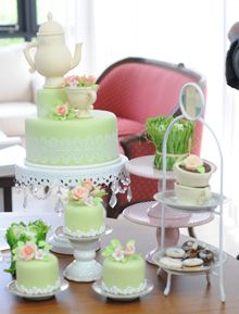 Tea Time  - Deco Tortas - Cakes tea time Nancy Blanco - https://www.youtube.com/user/ManosalaObraTV?sub_confirmation=1