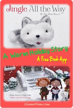 Jingle All the Way - Free Book App - available for iOS Apps, iBook, Kindle, Nook #kidsapps #BookApps #FreeApps