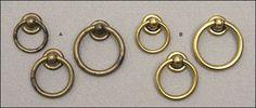 ring pulls for Hemnes dresser in bedroom