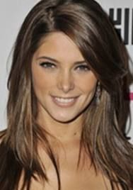 long brunette hair with side swept bangs- Found my new hair do!!!