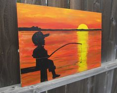 Fishing Boy Room Decor/Toddler Boys Room Decor/by NWrustic,$90.00