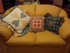 cuscini countri, alcuni cuscini