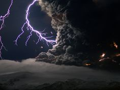 face to face with a lightning