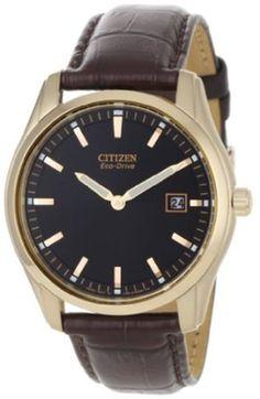 Citizen Mens AU1043-00E Mens Strap Eco Drive Watch