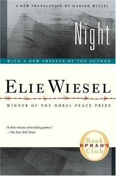 'Night' by Elie Wiesel.