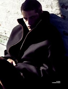 Sean OPry is in a Coat Mood for GQ Style Korea