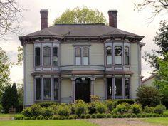 Italianate Victorian Barlow House by eg2006, via Flickr