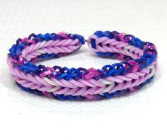 Twilight-Sparkle-Inspired-Friendship-Bracelet-Handmade-Rainbow-Loom-Bracelet