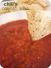 copycat Chili's Salsa Recipe EASY