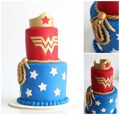 Wonder woman cake from Jack + Hunter