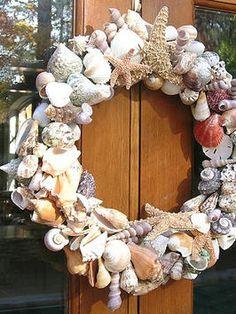 DIY - Shell Wreath