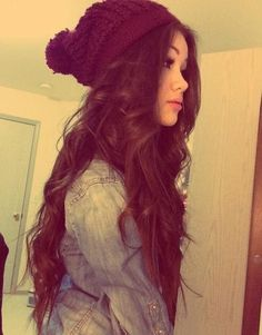 hair colors, wavy hair, long hair, longhair, lock, hairstyl, beauty, long curly hair, hat