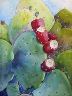 Prickly Pear - WetCanvas  Found on wetcanvas.com