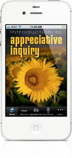 Appreciative inquiry app (4D cycle)
