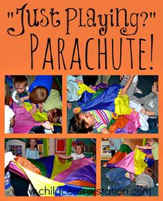 "Parachute! - ""Just Playing?"" - Child Central Station"