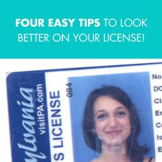 How to Look Good in Photos, Even For Your Passport and License!