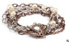 Jewelry Making Idea: Chains of Love Bracelet (eebeads.com)