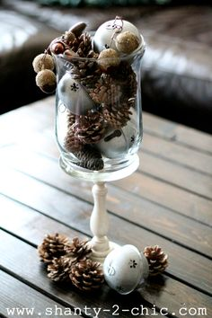 vase filler, craft, christma twist, christmas centerpieces, christmas tables, christmas decorations, christmas displays, christma decor, christmas ideas