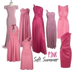 """""""Soft Summer Pink"""" by colorazione on Polyvore"""