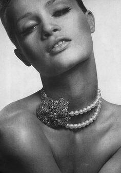 Celia Hammond for July Vogue, 1963
