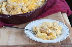 Chicken-Macaroni Casserole. Photo by Dine & Dish