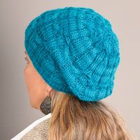 Tonal Twist Hat - featured in Love of Knitting magazine's Best Summer Knits Issue, on sale May 13th. This is a fabulous compilation of some of our favorite summer patterns from our past issues.