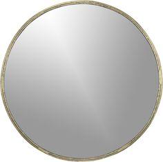 tork brass dripping mirror