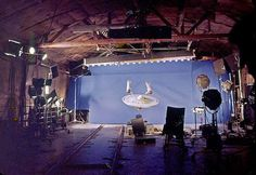 Filming model special effects for Star Trek in the 1960's