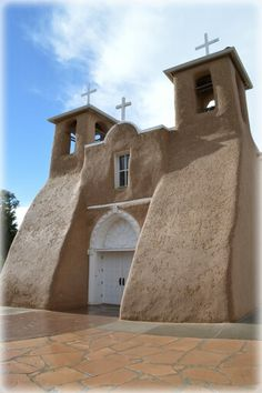 San Francisco De Asis.  Most photographed church in the world.  Taos New Mexico