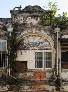 Crumbling British Building in Penang