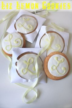 Lemon & Sour Cream Cookies