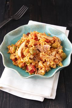 Arroz con Pollo (Chicken and Rice) from HandletheHeat.com