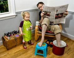 Fathers and Daughters.  So cute.  Check out this guy's gallery of pics that he takes with his daughter. Funny and cute!!  <3