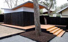 shou sugi ban contemporary exterior (carbonized wood)