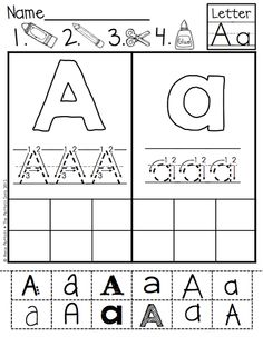 ABC Cut and Paste Fonts!  Helps with upper and lowercase letter identification, letter formation, and identification of fonts in various printed and published styles.