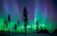 Northern Lights...Before I die I must see these!