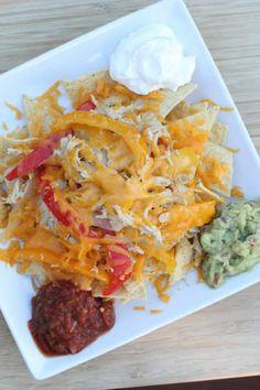 gluten free meals, fajita nacho