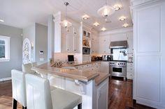 white, white, white kitchen!!