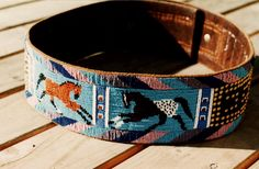 beaded Plateau panel belt