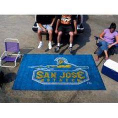 "San Jose State Spartans Tailgating Ulti-Mat 60""x96"""